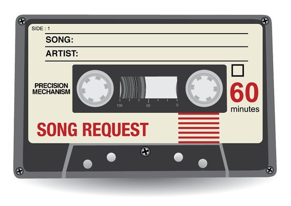 20 X Wedding Song Request Cards