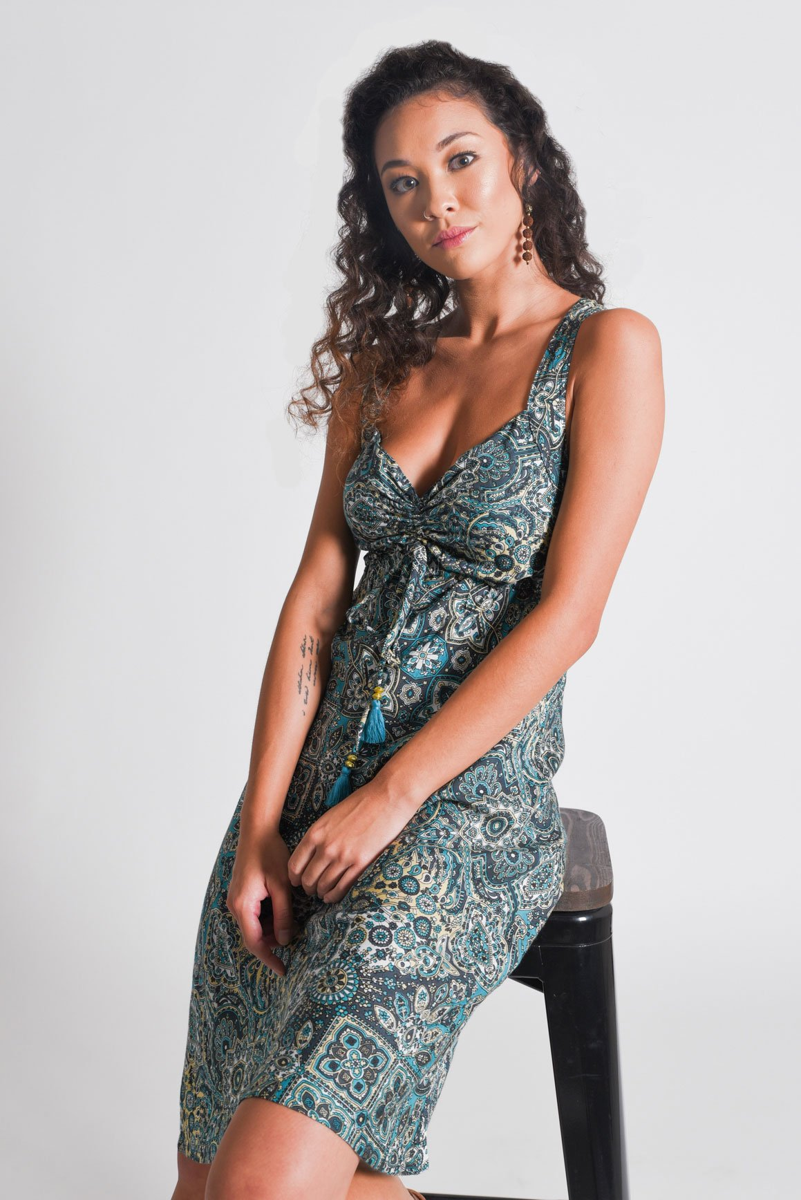Aanya_Bohemian_Women_s_Midi_Green_Summer_Dress-_2-of-6