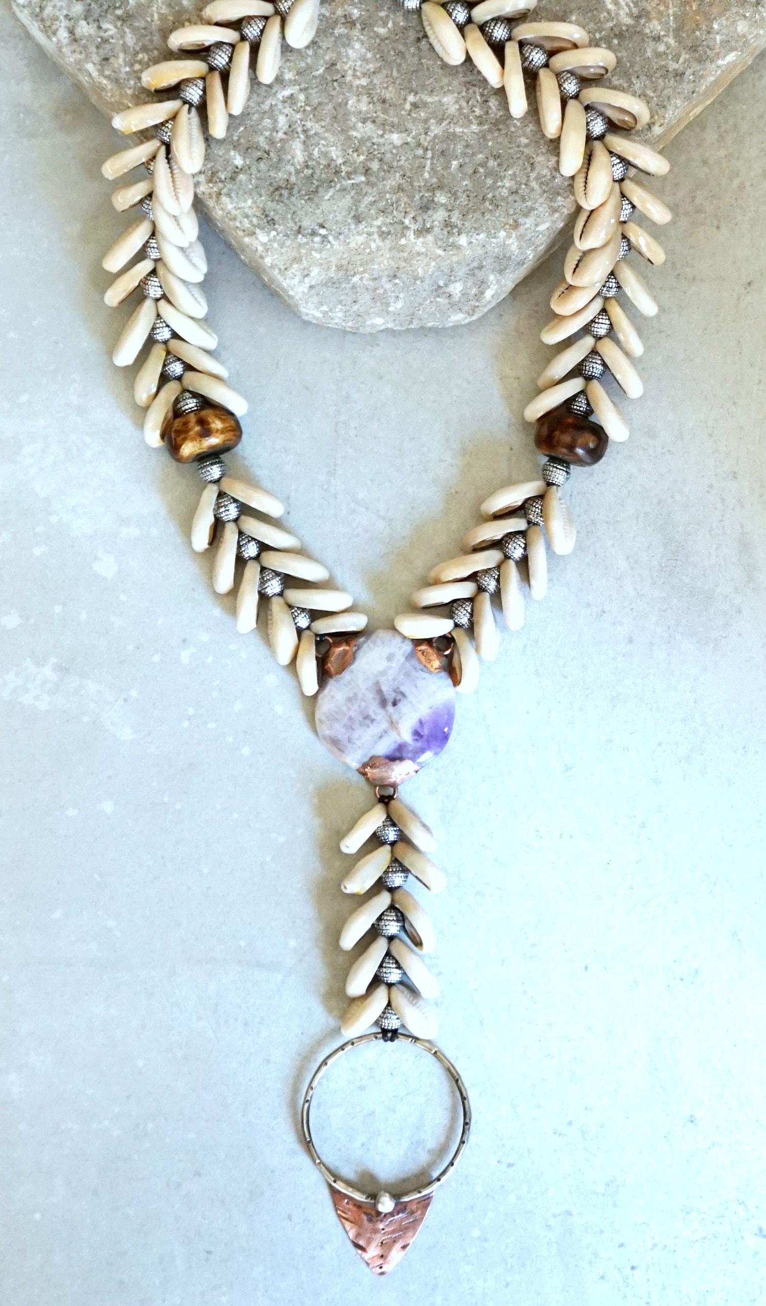 Mermaid Y necklace-min