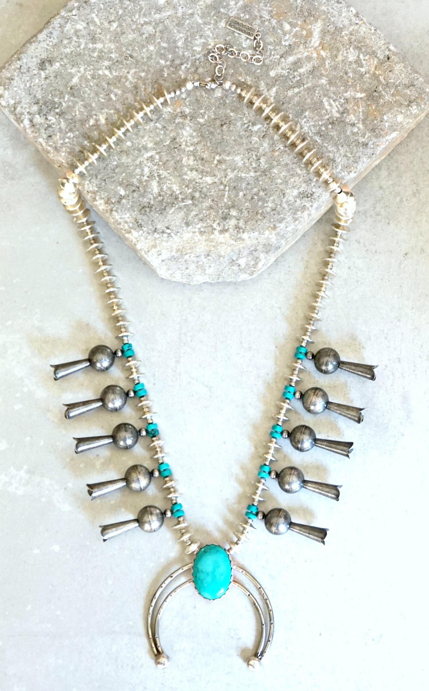 Squash Blossom necklace-min