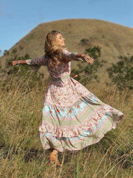 Havillah Maxi Dress – Lotus