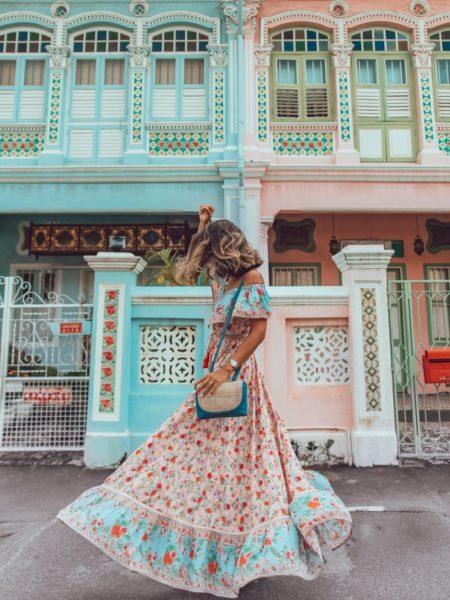 Hosannah Maxi Dress – Lotus