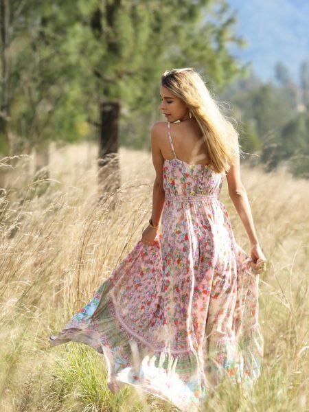 Ravennah Maxi Dress – Lotus