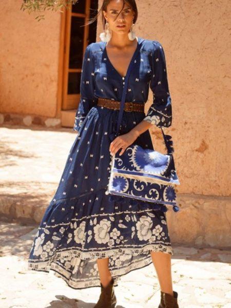 MAXI PRINT DRESS SACHA
