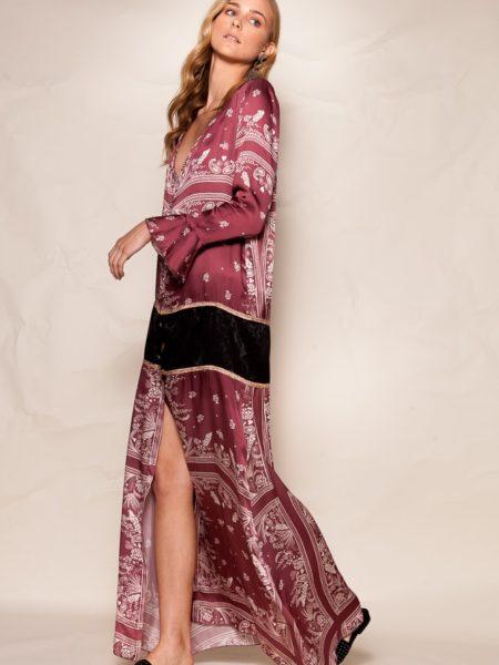 CAMEO KIMONO DRESS