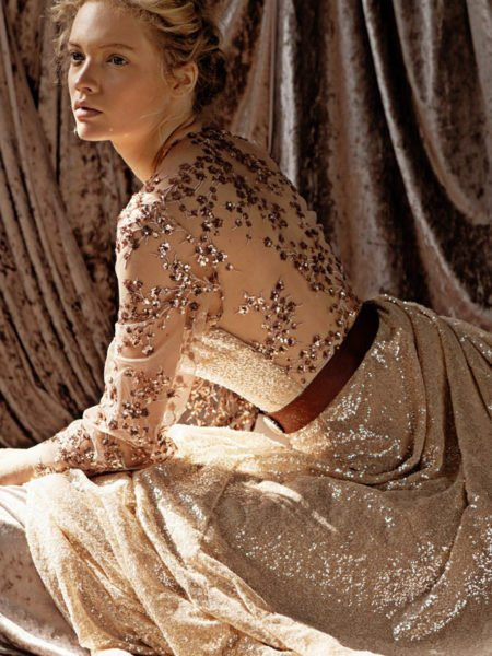 ILIAD SEQUINED DRESS