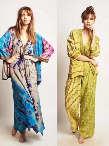 ➳ Shop bohemian kimonos and bohemian ponchos on Bohemian