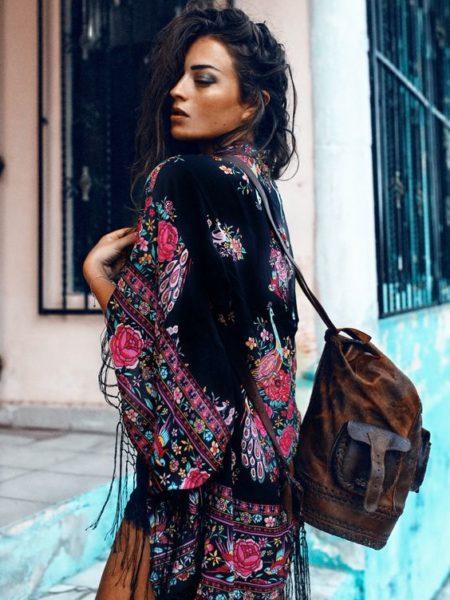 hotel paradiso kimono by Spell Designs