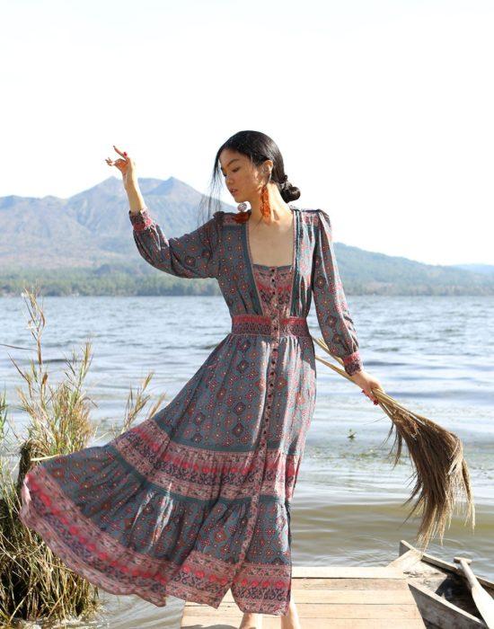 Shanaya Gown – Teal