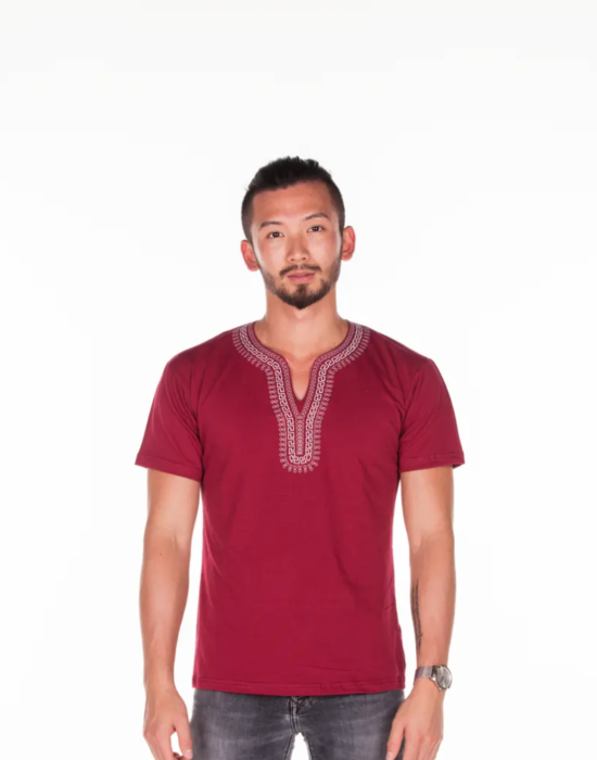 BINOAR – Shirt Bordeaux Men