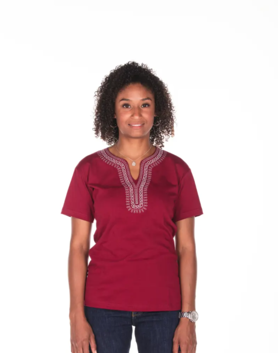 BINOAR – Shirt Bordeaux Women