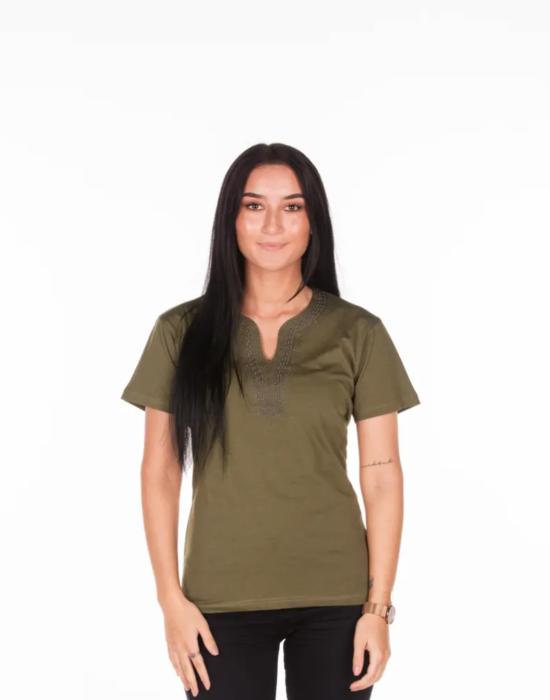 BINOAR – Shirt Khaki Women