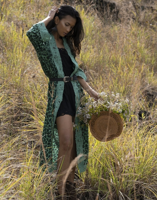 Abeke Robe – Emerald