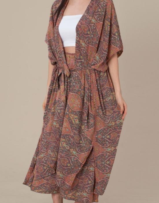 Caasi Lounge Kimono | Pink