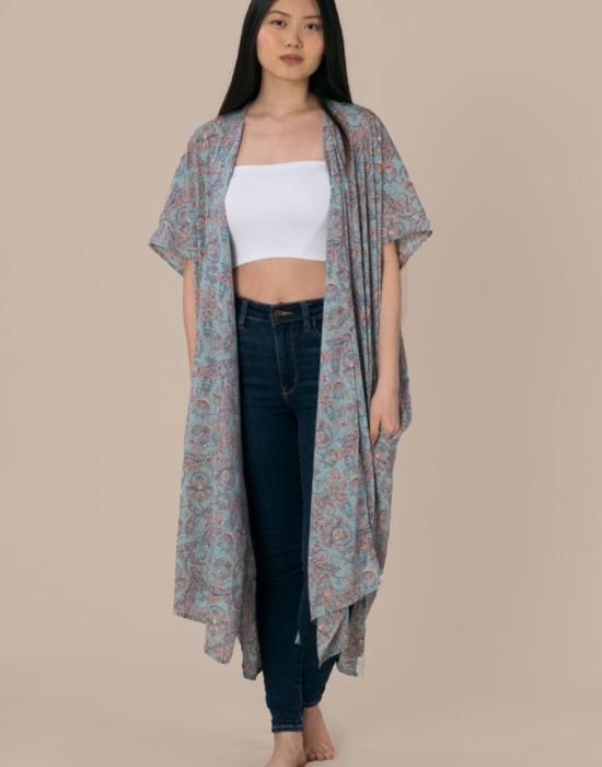 Caasi Lounge Kimono | Blue