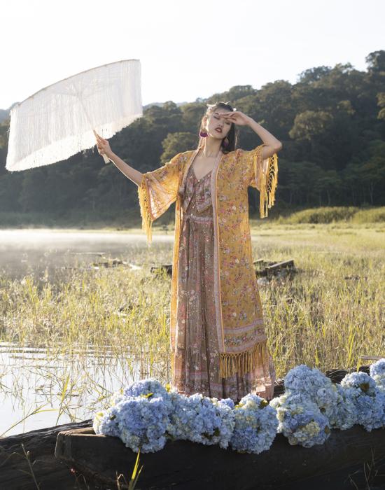 Phoenix Long Robe – Chinese Gold