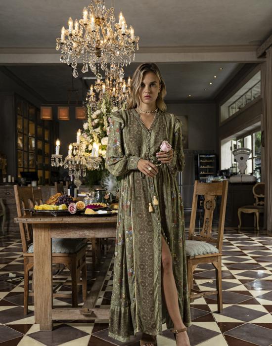 Grace Maxi Dress – Olive
