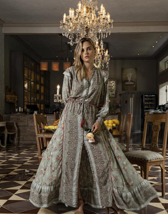 Grace Maxi Dress – Sage