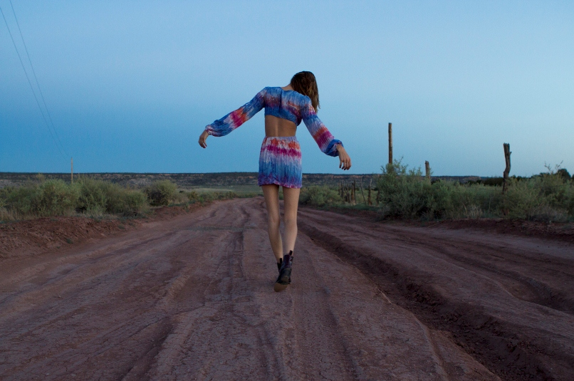 Molly Stone shot in the outback