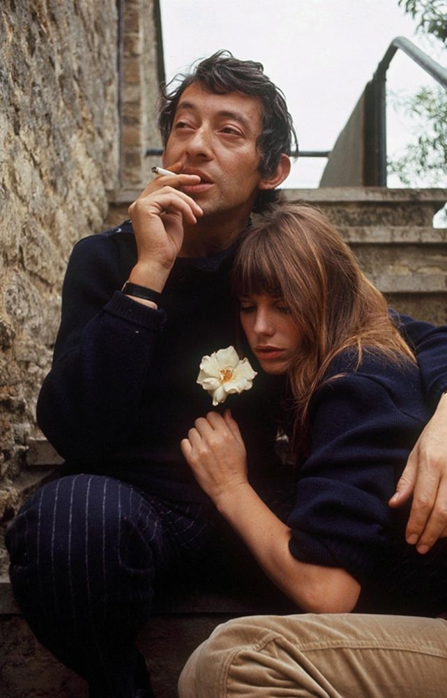 Mandatory Credit: Photo by ARALDO CROLLALANZA / Rex Features ( 28758C ) SERGE GAINSBOURG AND JANE BIRKIN VARIOUS - 1969