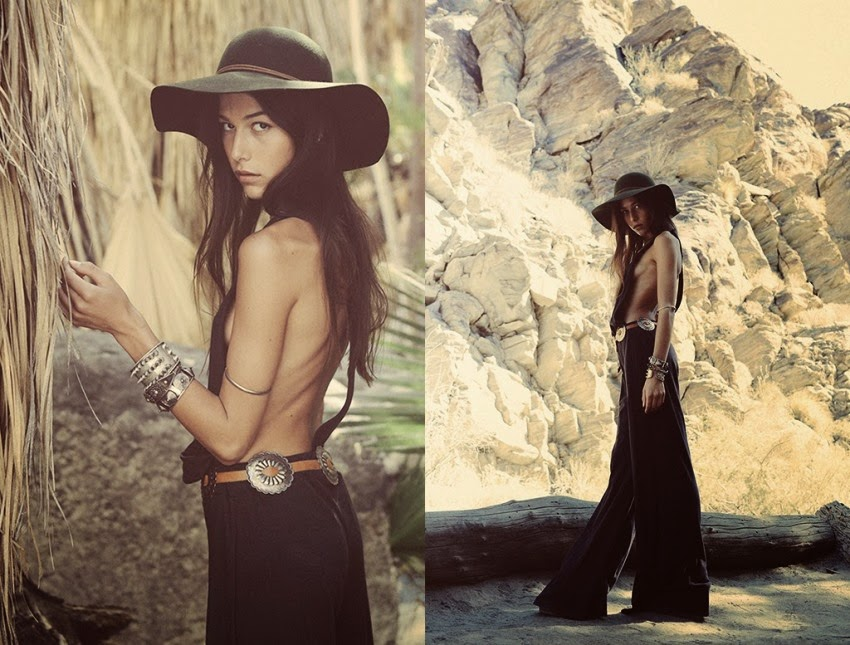 Planet Blue lookbook Into the wild
