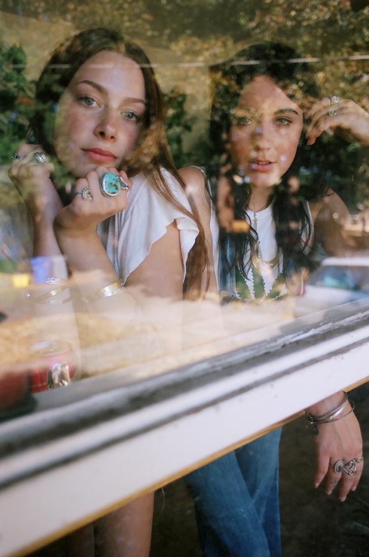 models Skye Sengelmann and Kelsey McNiece - shot by Amanda Leigh Smith