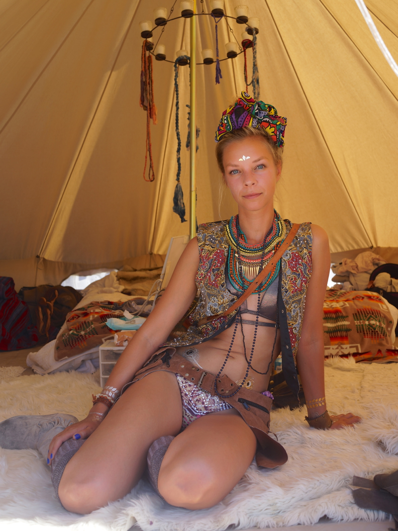 live from the Burning Man festival 2014