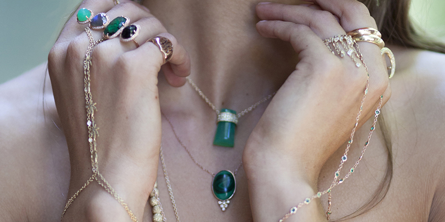 jewelry by Jacquie Aiche - shoot by Kayla Varley