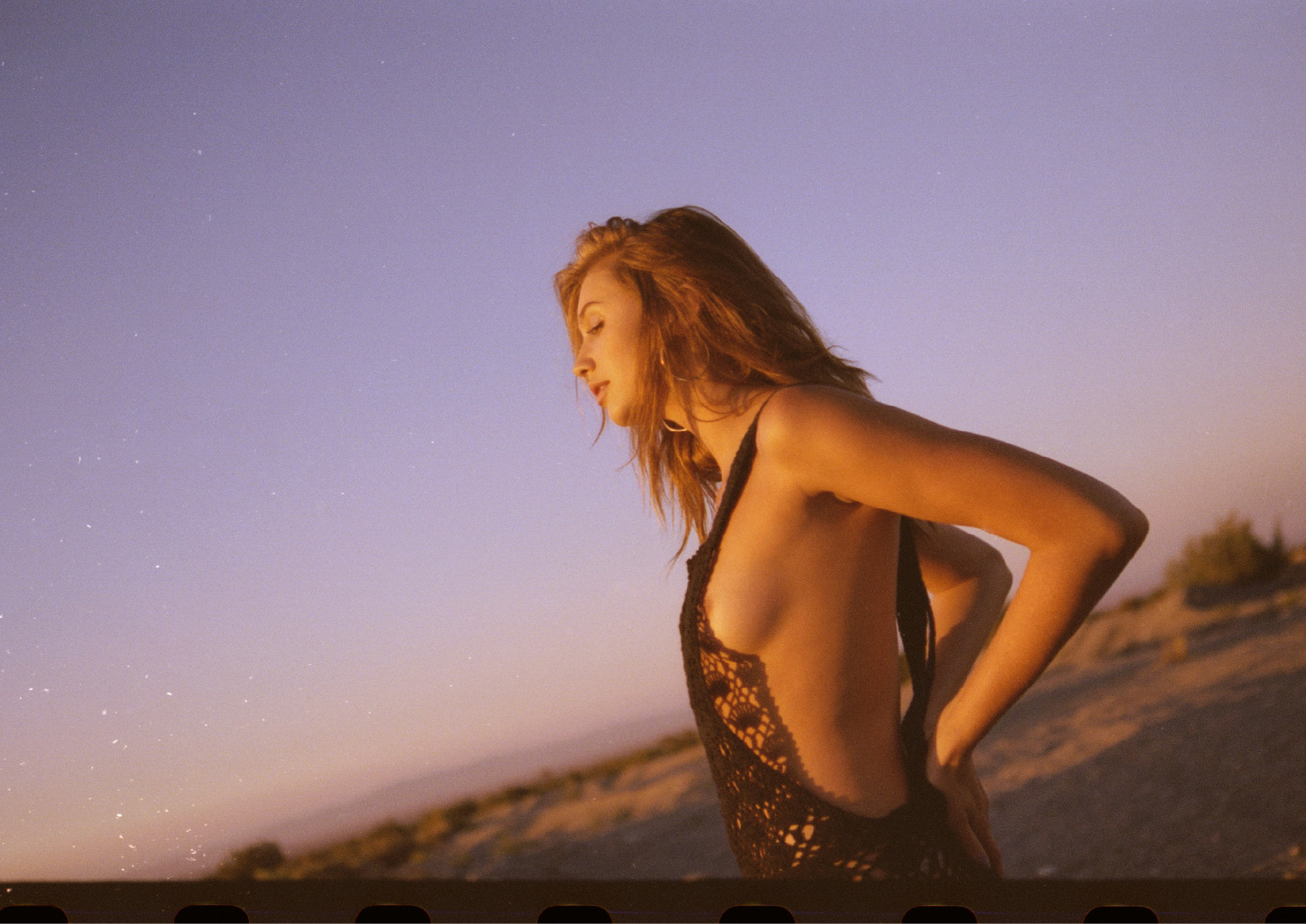 somewhere in the desert - model Cailin Russo
