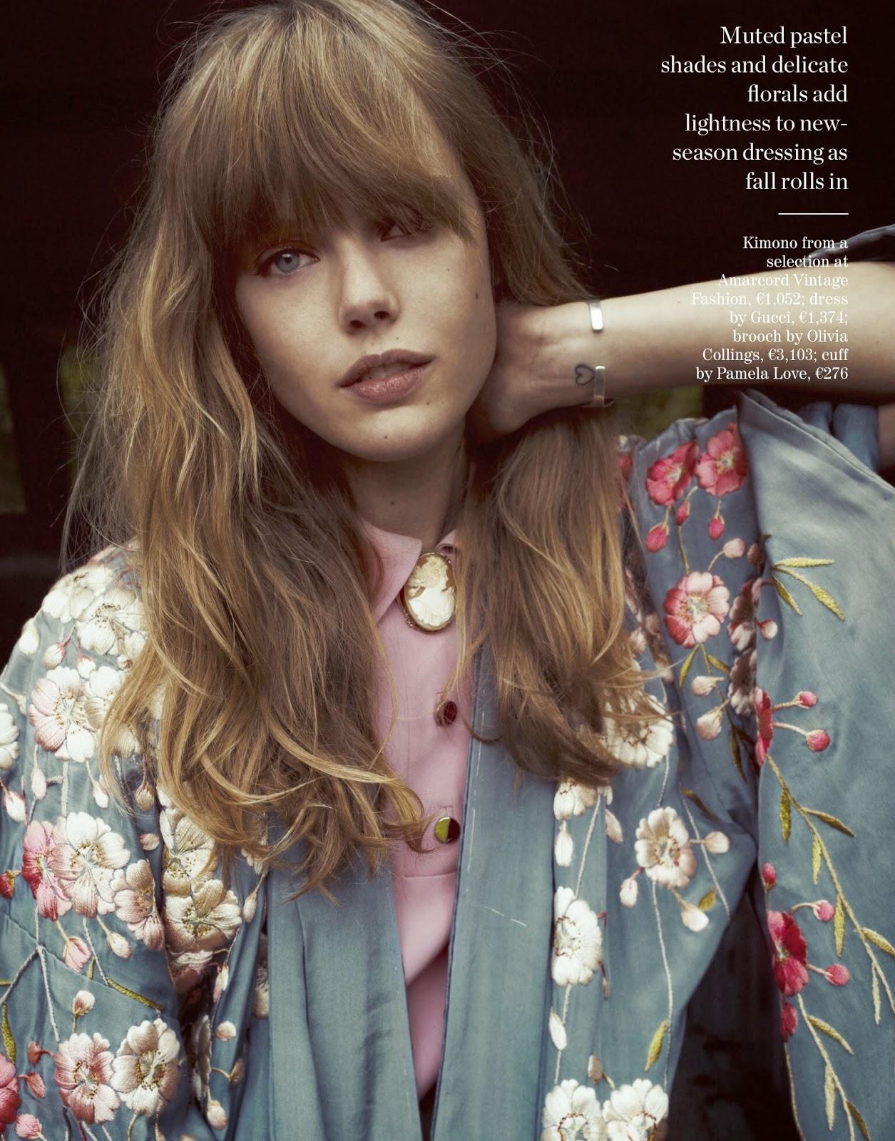 model Frida Gustavsson - photographer Cedric Buchet