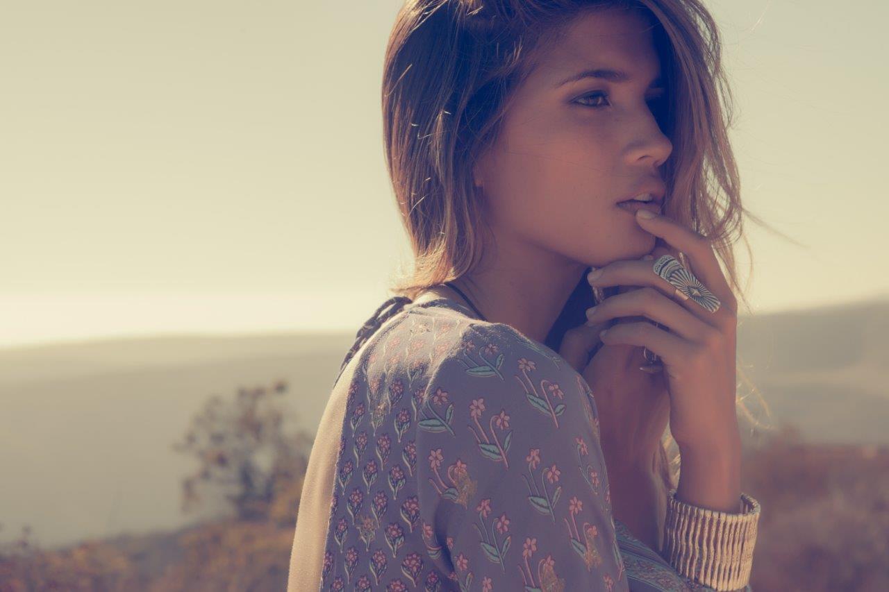 bohemian model Rachel Barnes