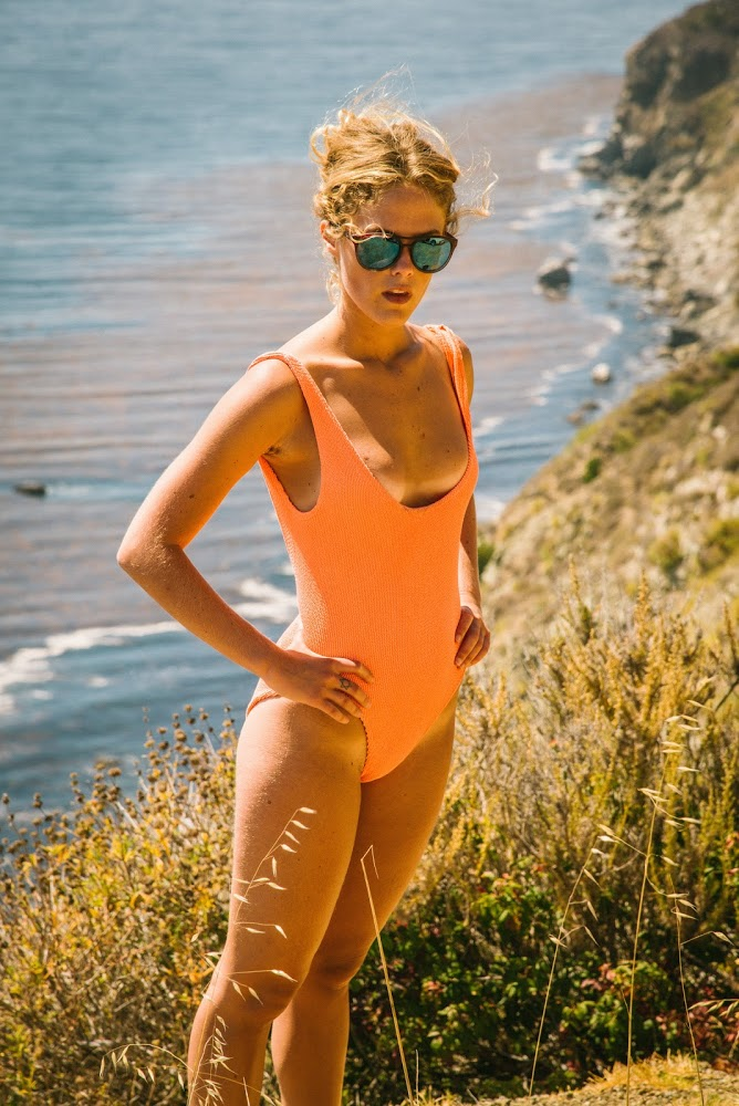 "photographer Sasha Eisenman shot for ""Big Sur"""