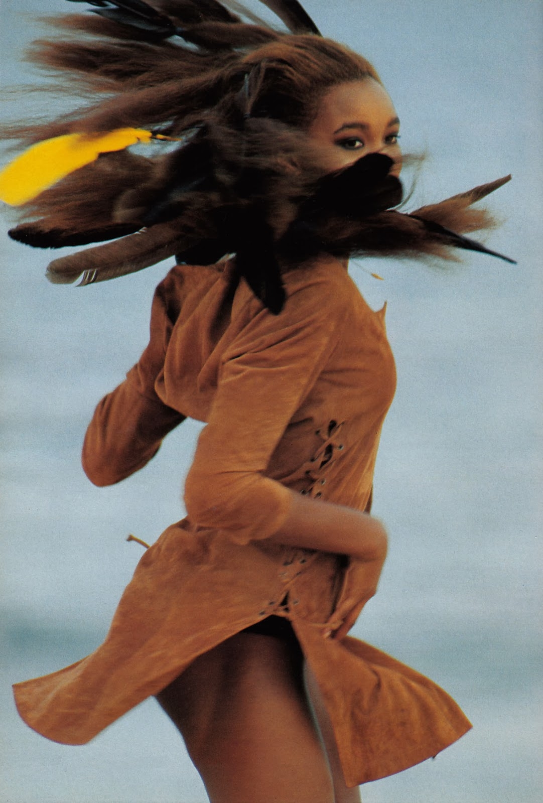 Beverly peele in collaboration with Hans Feurer