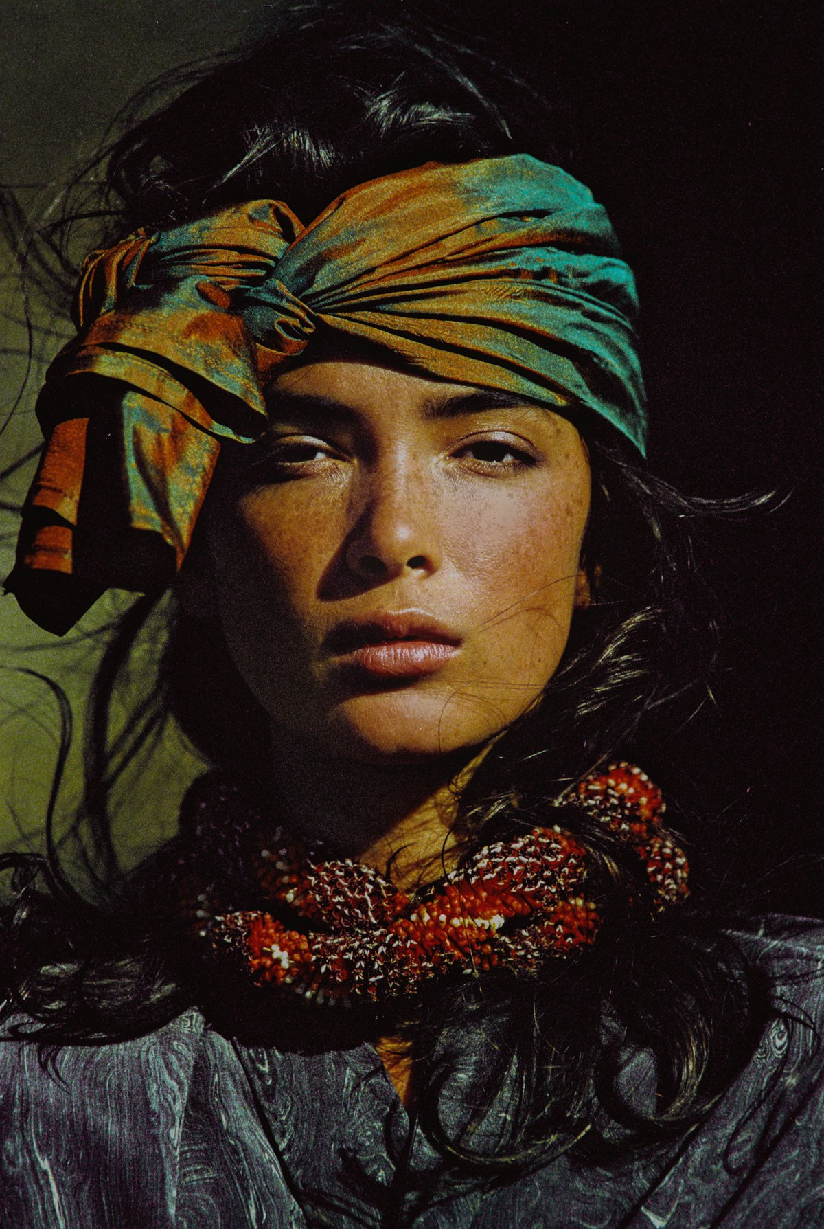 Linda Spierings shot by Hans Feurer