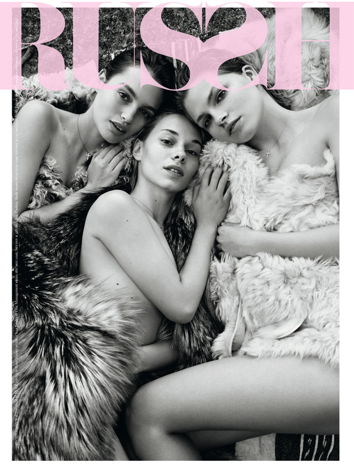 cover of Russh Magazine