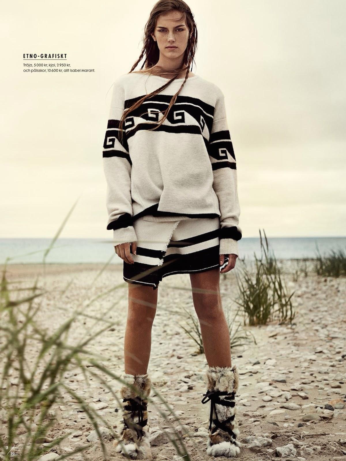 Naturbarn - model Stina Olsson