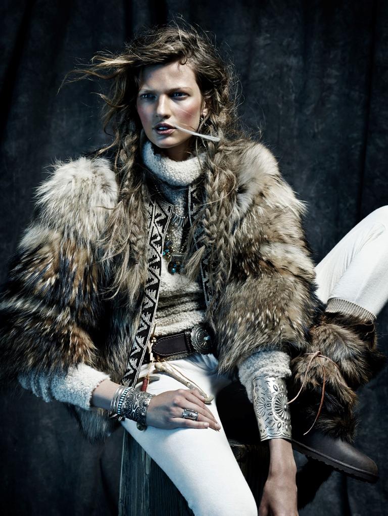 Bette Franke in winter is coming