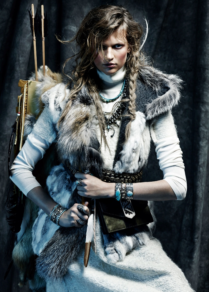 Winter is coming - Vogue Spain November 2014
