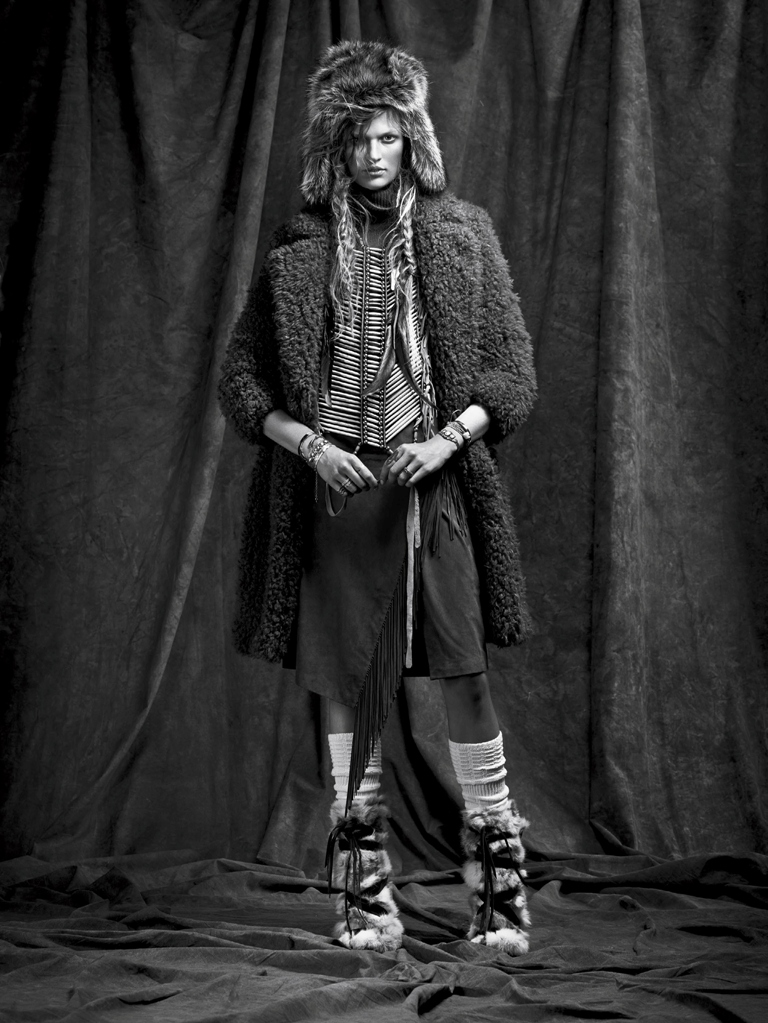 Bette Franke in Vogue Spain November - winter is coming