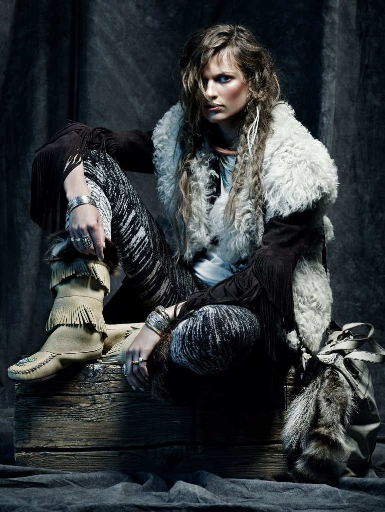 November editorial for Vogue Spain - winter is coming