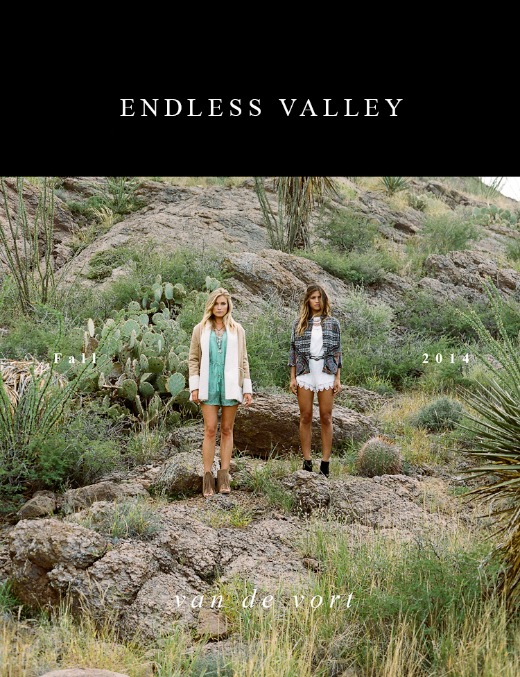 "Shop Van De Vort ""Endless Valley"" - Rachel Barnes & Alden Steimle"