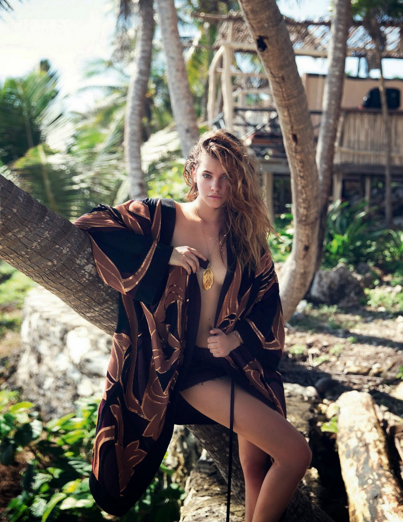 David Bellemere shot Barbara Palvin