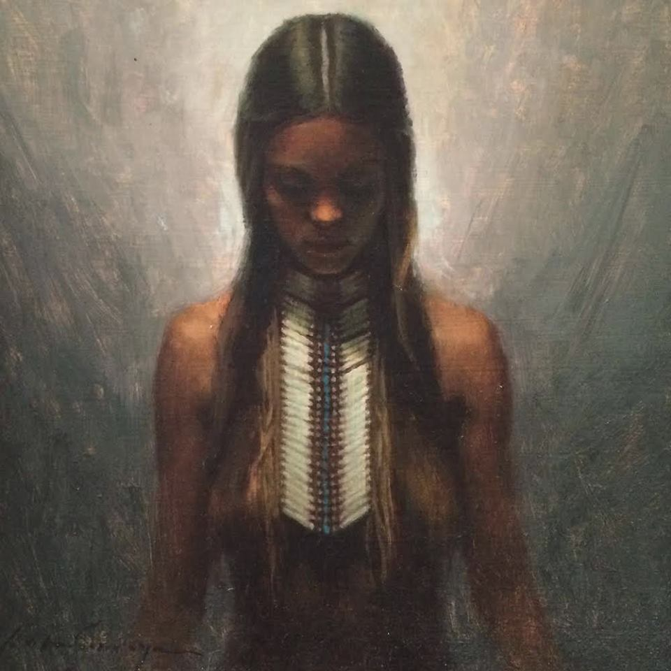 oil paint by Kate Wolfgang Savage
