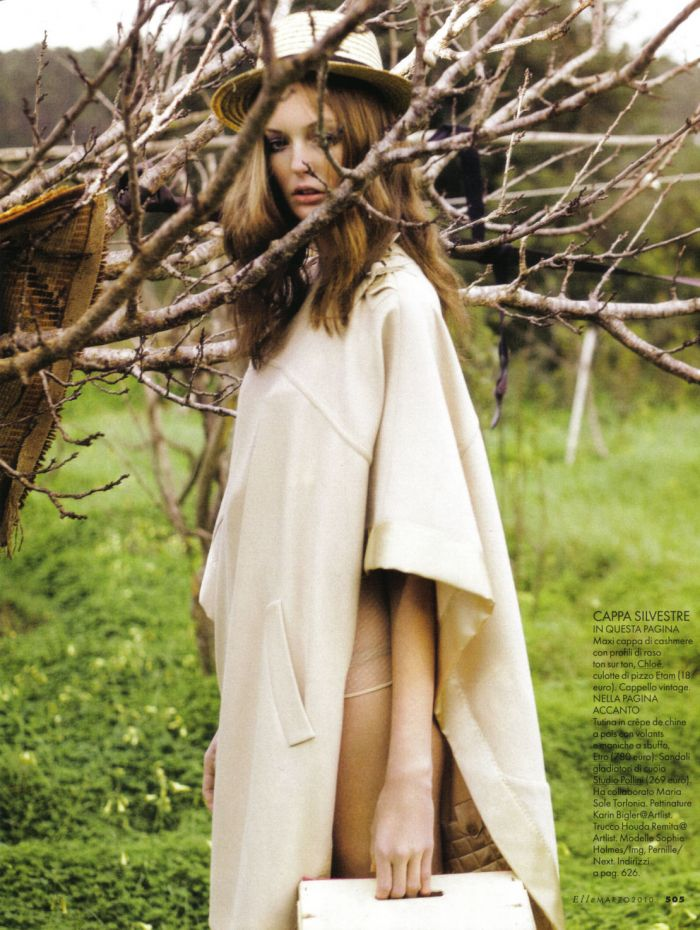 FlashBackFriday with Elle Italy March 2010