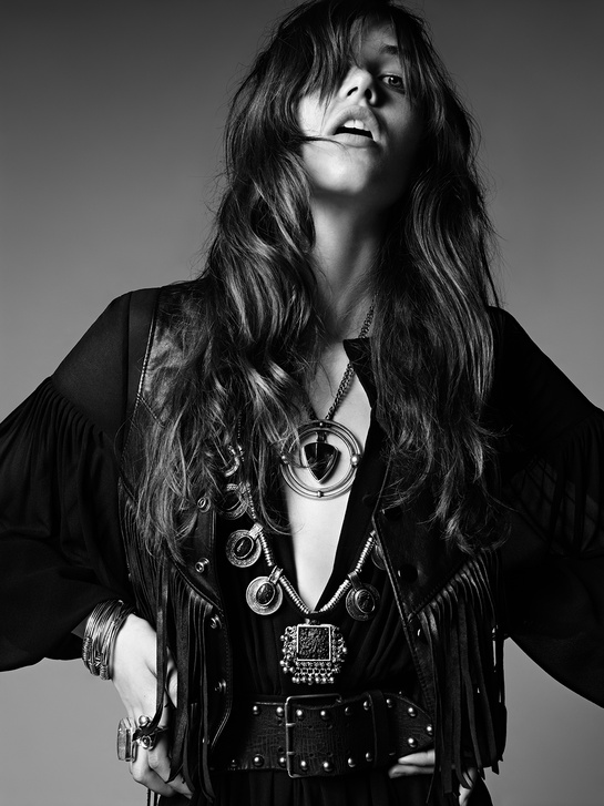 Saint Laurent - model Grace Hartzel