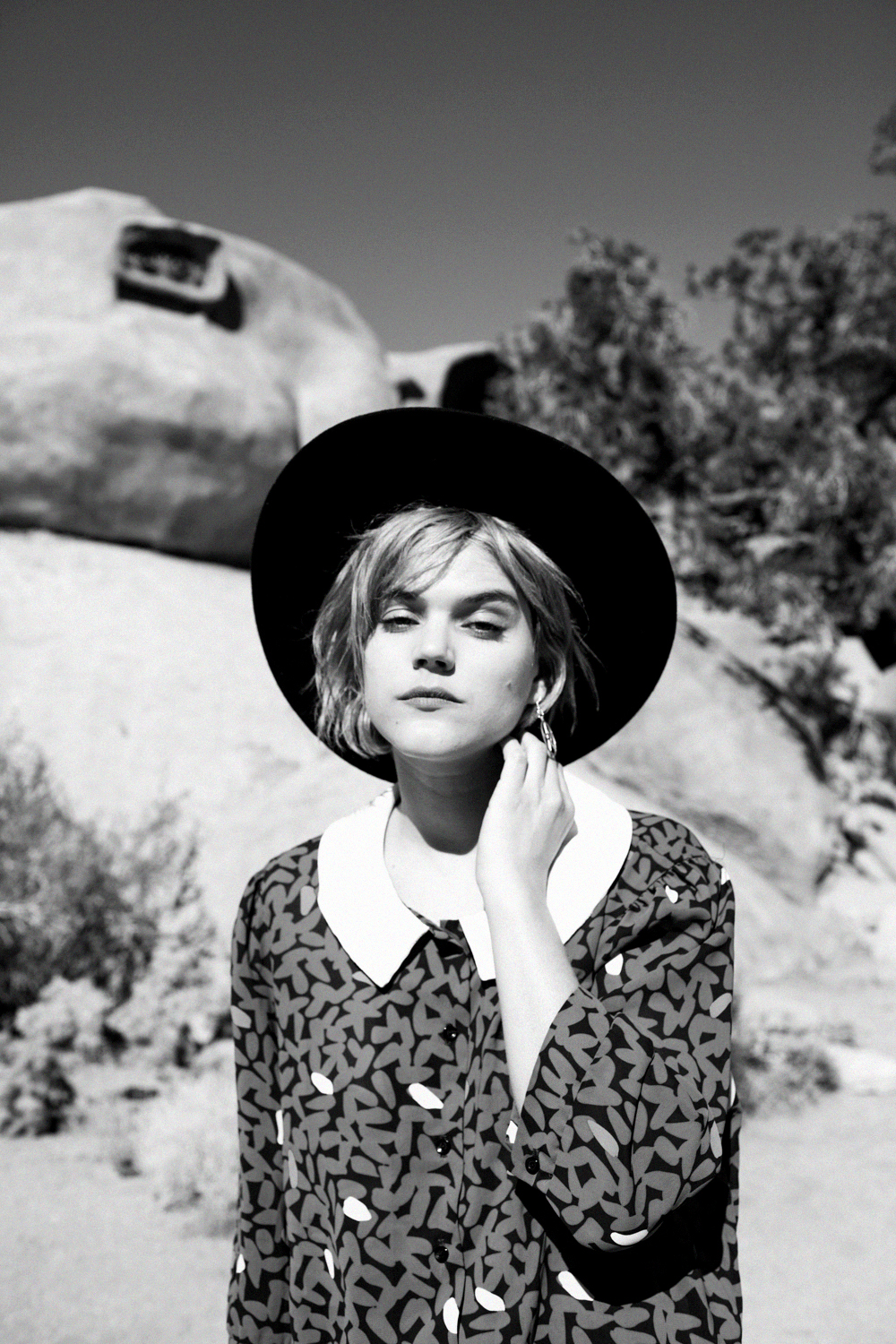 shot in Joshua Tree