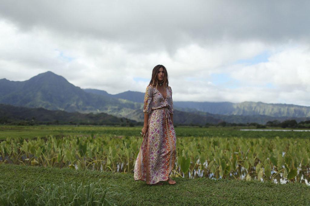 Mel Tjong shot model Rachel Barnes