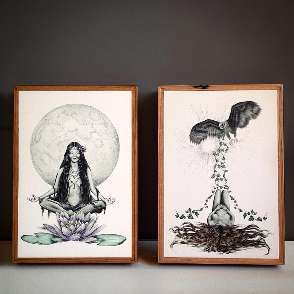 Stephanie De Dood prints