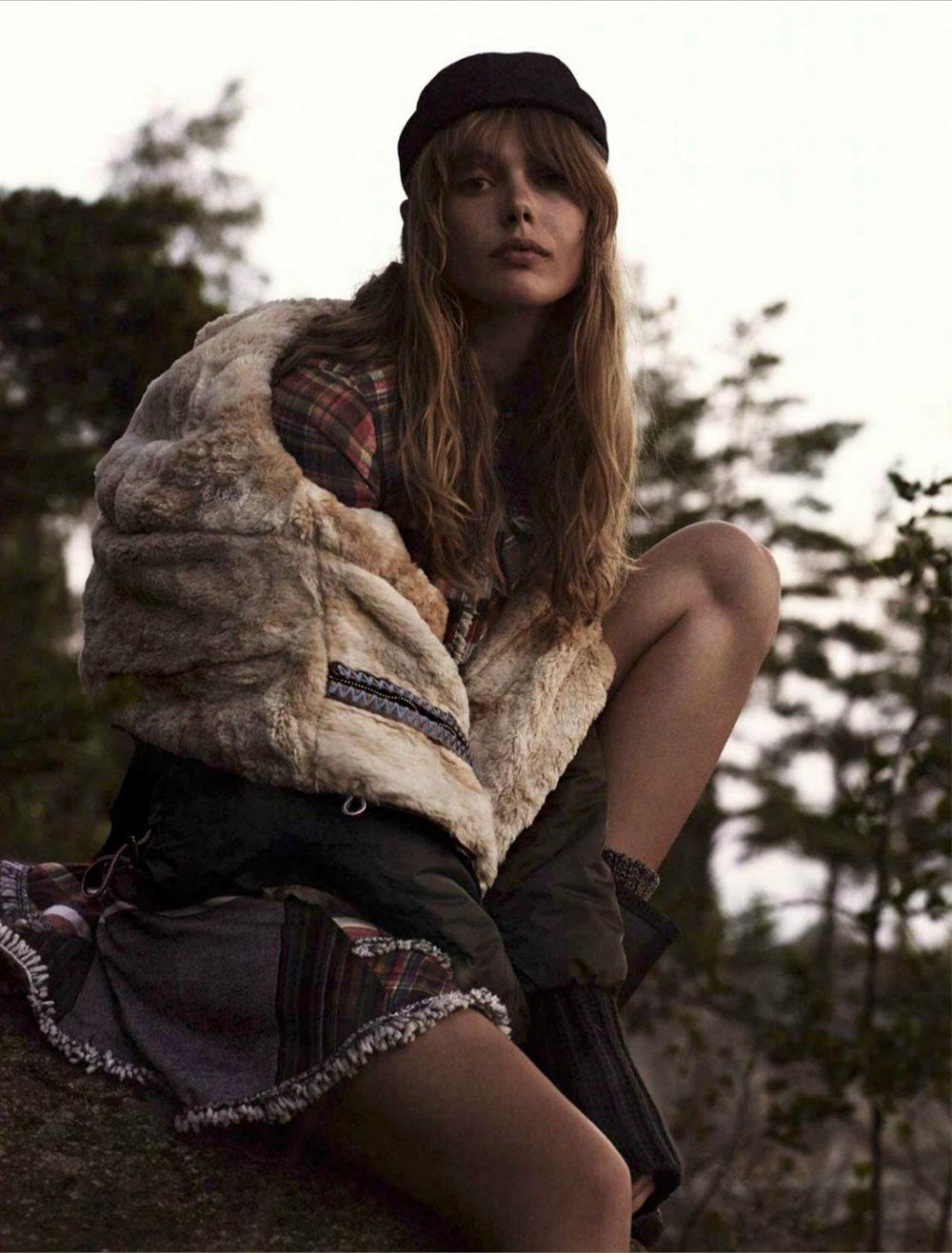 Frida-Gustavsson - Glamour France October 2014