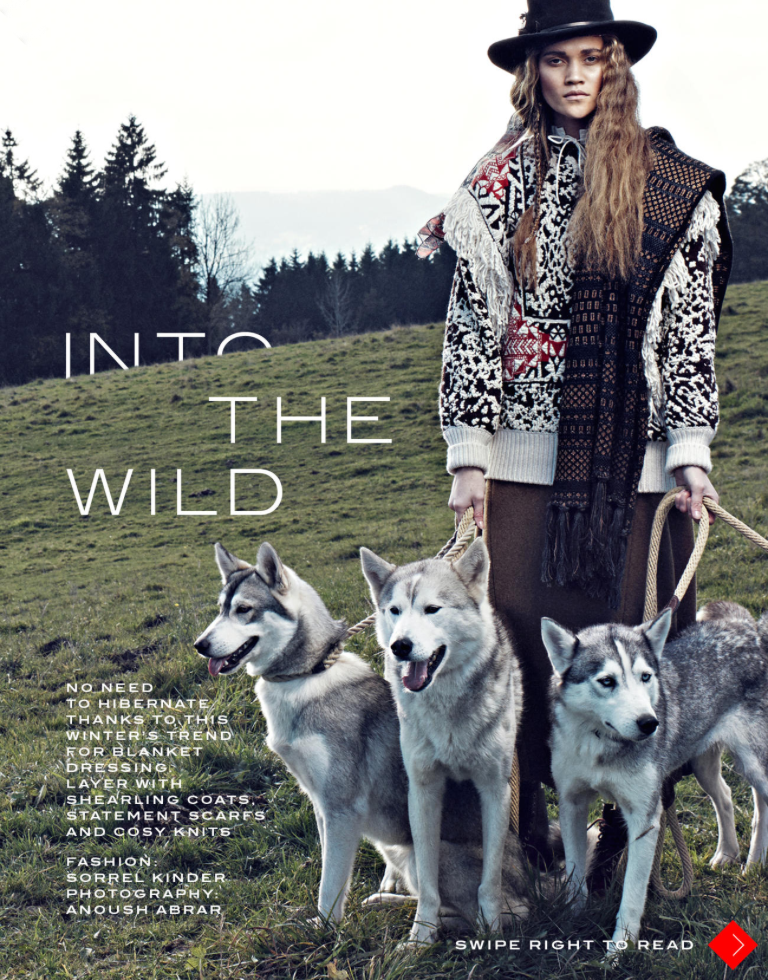 In the Wild editorial